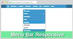 Membuat Menu Bar Drop Down Responsive