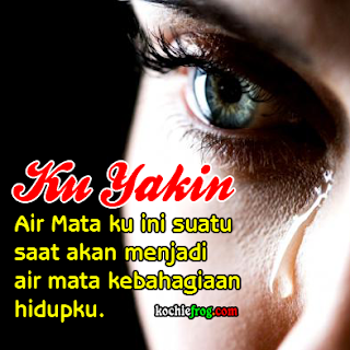 dp bbm sedih menangis