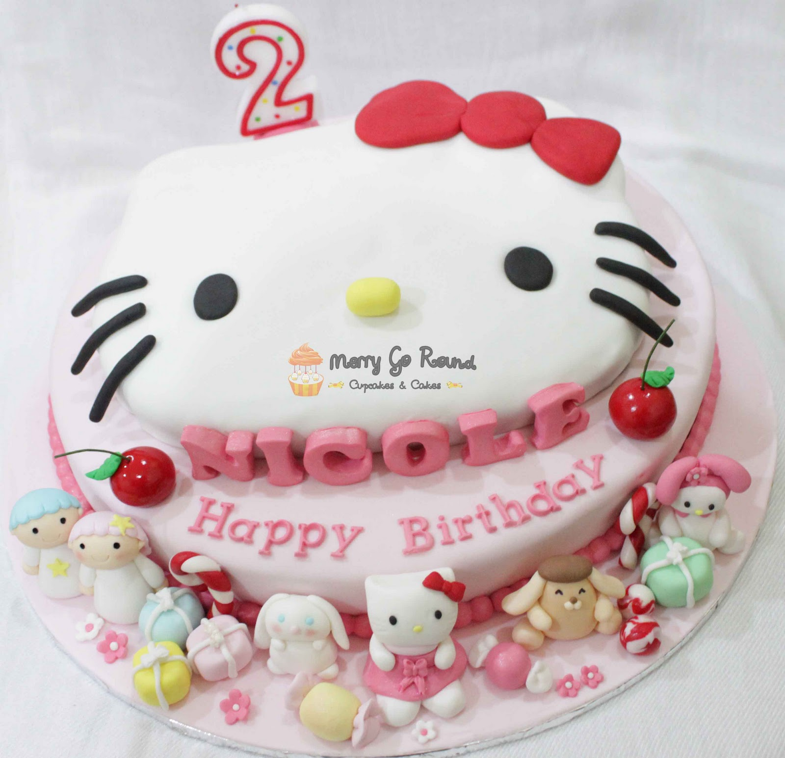Merry Go Round Cupcakes Amp Cakes Sweet Hello Kitty And