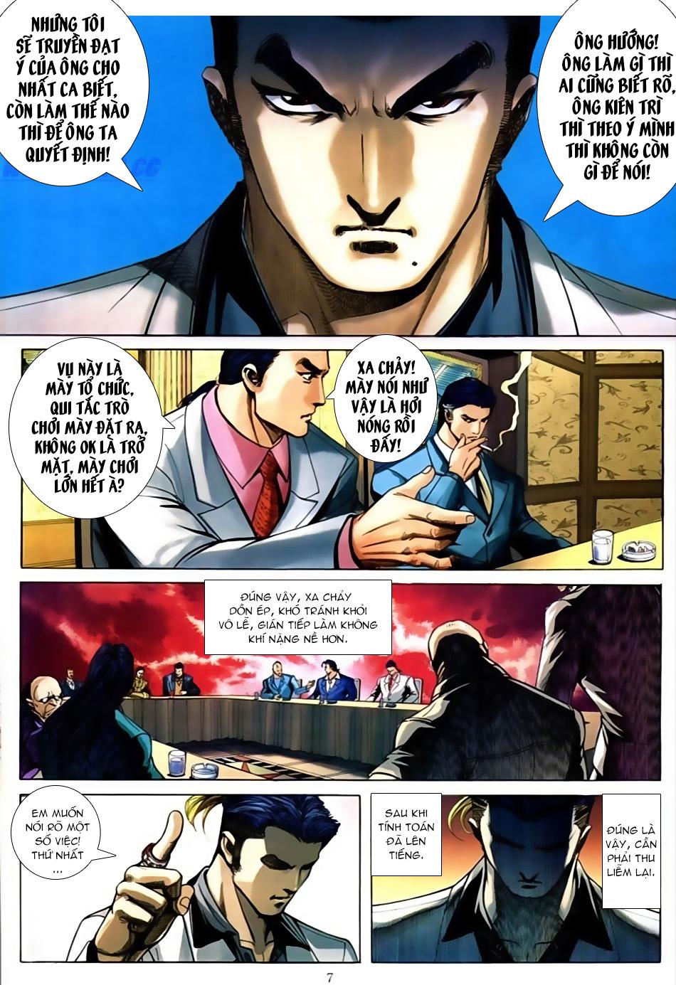 Người Trong Giang Hồ chapter 587: thiên thu và thái tử trang 6