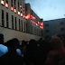 Happening now: Fire outbreak at YabaTech (Watch Video)