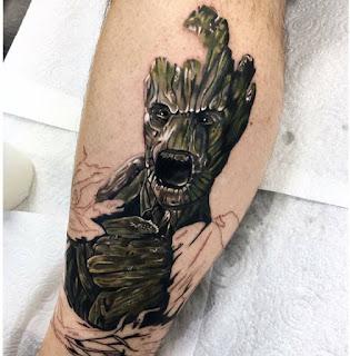 tatuaje de grooth