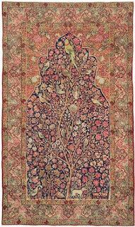 One of the most expensive carpets in the world belong to Iran, and is the silk carpet of Isfahan.