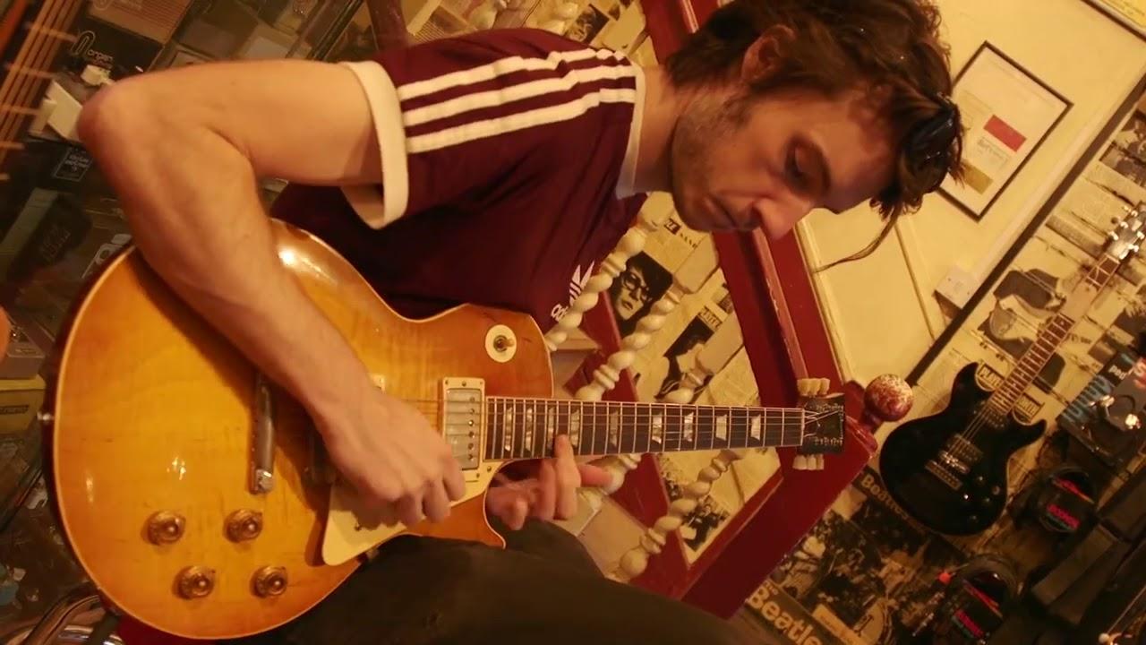 Gary Moore's son Jack plays £135k original 1959 Gibson Les Paul