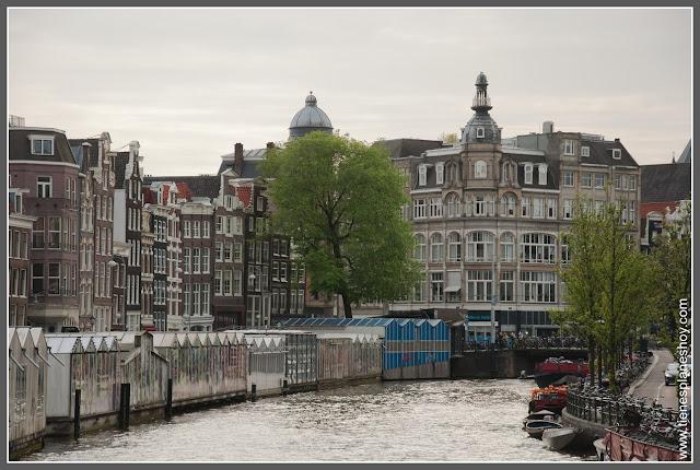 Mercado de las Flores Amsterdam (Países Bajos)