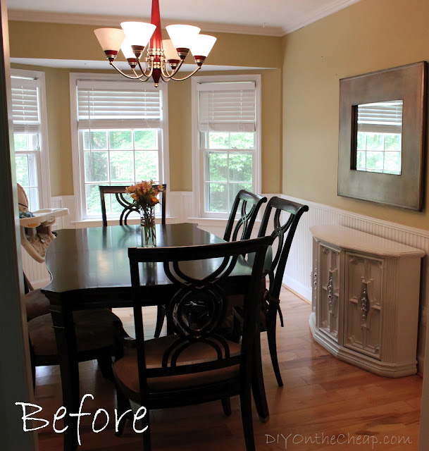 Dining Room Makeover: Dining Room Makeover {Phase One}