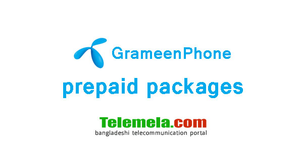 Grameenphone prepaid packages