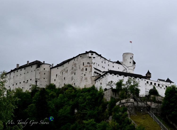 Hohensalzburg Fortress in Salzburg, Austria | Ms. Toody Goo Shoes #austria #danuberivercruise #Salzburg #hohensalzburgfortress