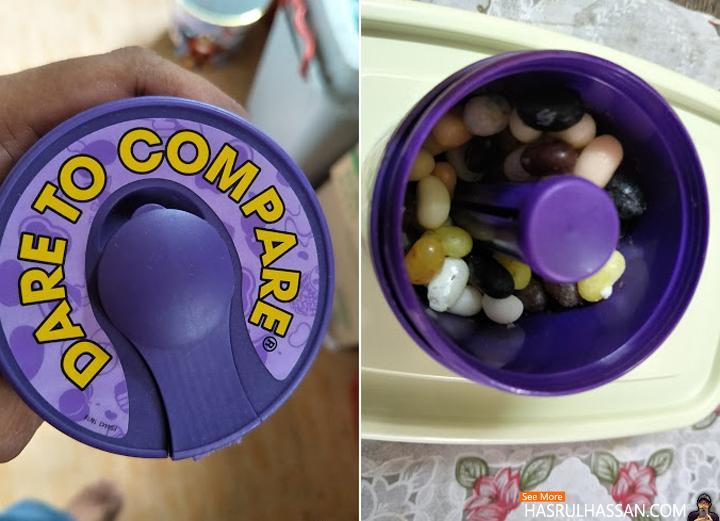 Weird Taste of Jelly Bean - Bean Boozled