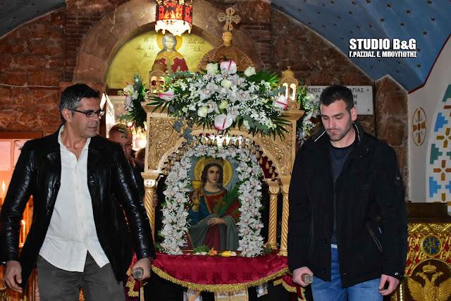 Τίμησαν την Αγία Βαρβάρα στο Λάλουκα (βίντεο)