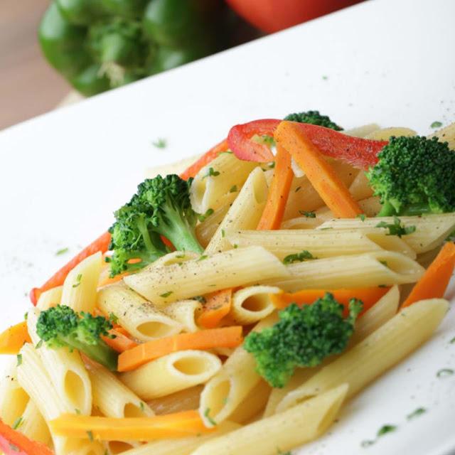 Resep Mix Pasta Sayuran