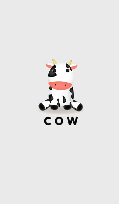 Simple Cute Cow theme v.3