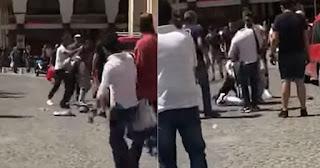 Θεσσαλονίκη: Περαστικός έσπασε στο ξύλο αλλοδαπό που πήγε να κλέψει νεαρό
