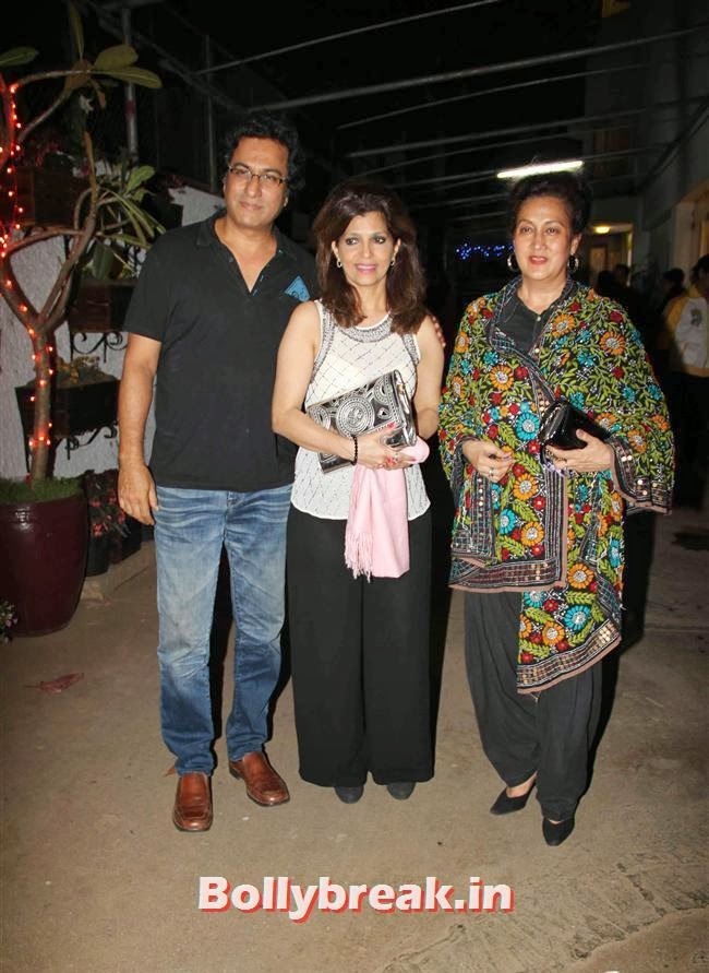 Talat and Bina Aziz, Ram Leela Premiere Photos