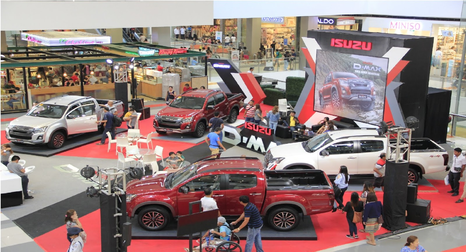 Isuzu Philippines Brings D Max 4x4 Toughness In Davao City