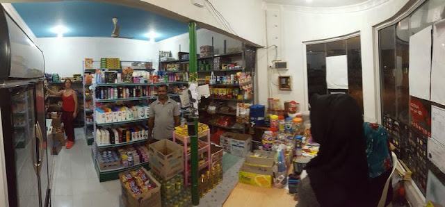 tiendas isla de Nilandhoo Maldivas