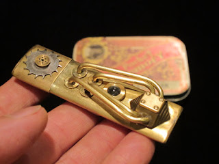 Brass Steampunk USB Flash drive memory stick