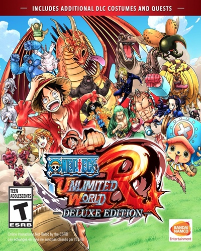 โหลดกมส์ One Piece: Unlimited World Red - Deluxe Edition