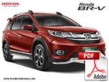 Brosur Mobil Honda BRV Bandung