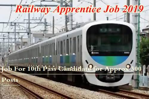 Railway Apprentice Job 2019