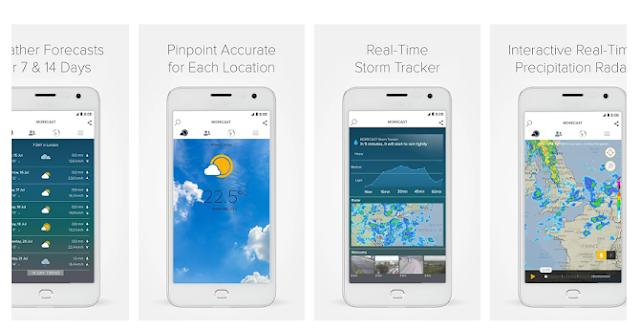 أفضل تطبيقين أندرويد لمعرفة حالة الطقس في مدينتك