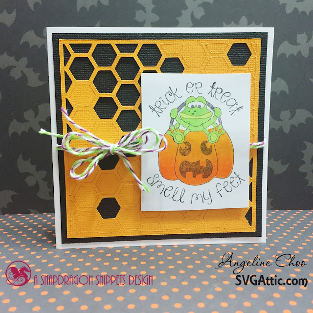 ScrappyScrappy: SVG Attic - Pink & Main Spook-tacular Blog Hop #scrappyscrappy #pink&main #pinkandmain #svgattic #svg #cutfile #diecut #papercraft #stamp #copic #halloween #trickntreat #smellmyfeet #trendytwine