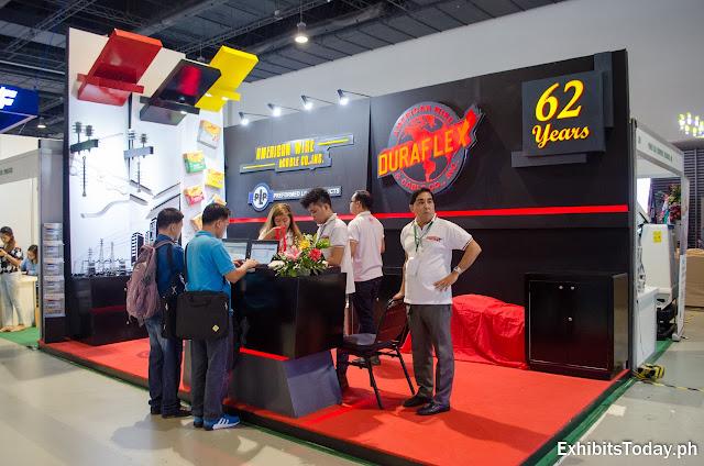 Duraflex exhibit stand