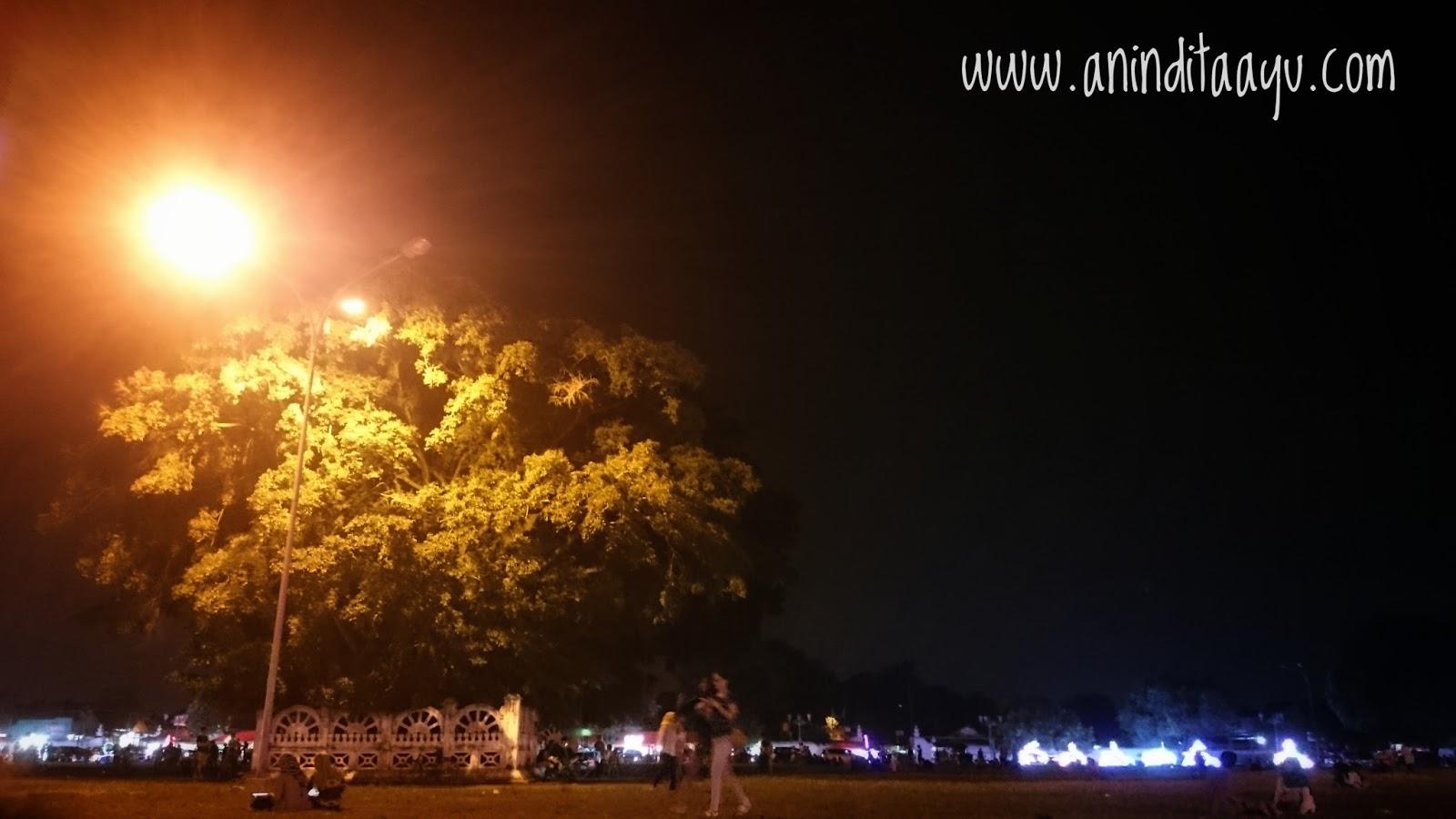 Alun-Alun Yogyakarta liburan di luar kota