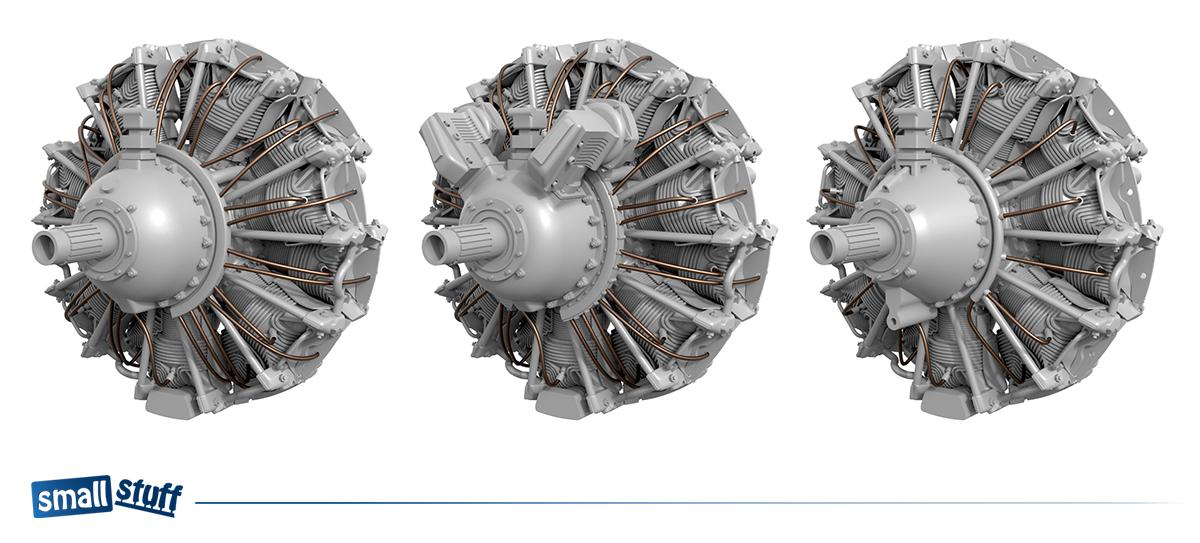 Small Stuff Models: Coming soon - 1/72 Pratt & Whitney R