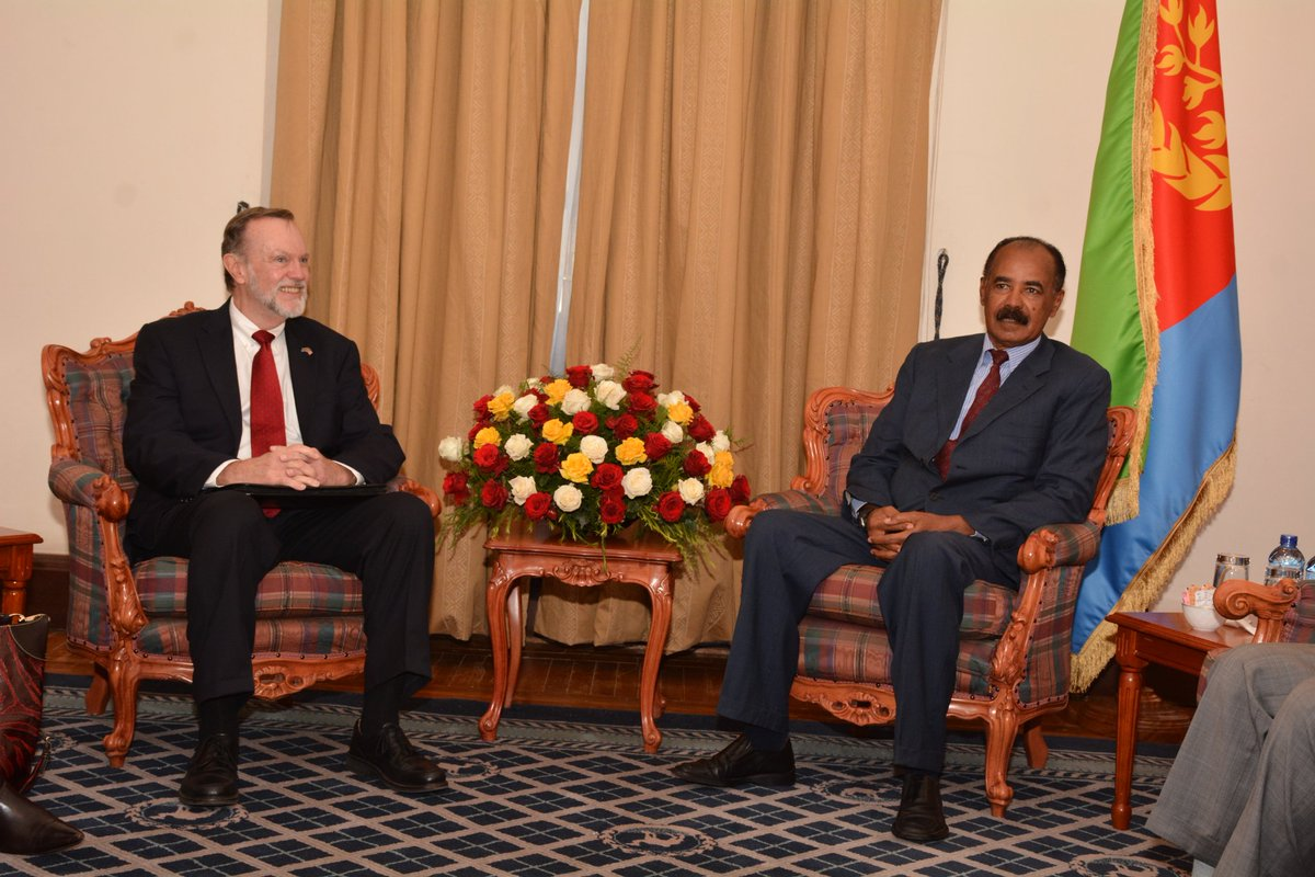 <&quot;We found our discussions with Eritrean government officials to be very positive&quot; US Asst. Sec. Nagy