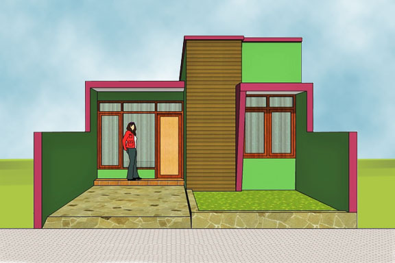 view of house plan A-16