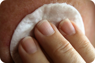 cleanse your face on pamper night