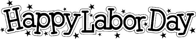 Labor Day Clip Art Black And White