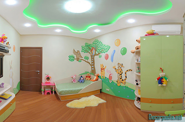 kids room ceiling designs and ideas, gypsum ceiling for kids room