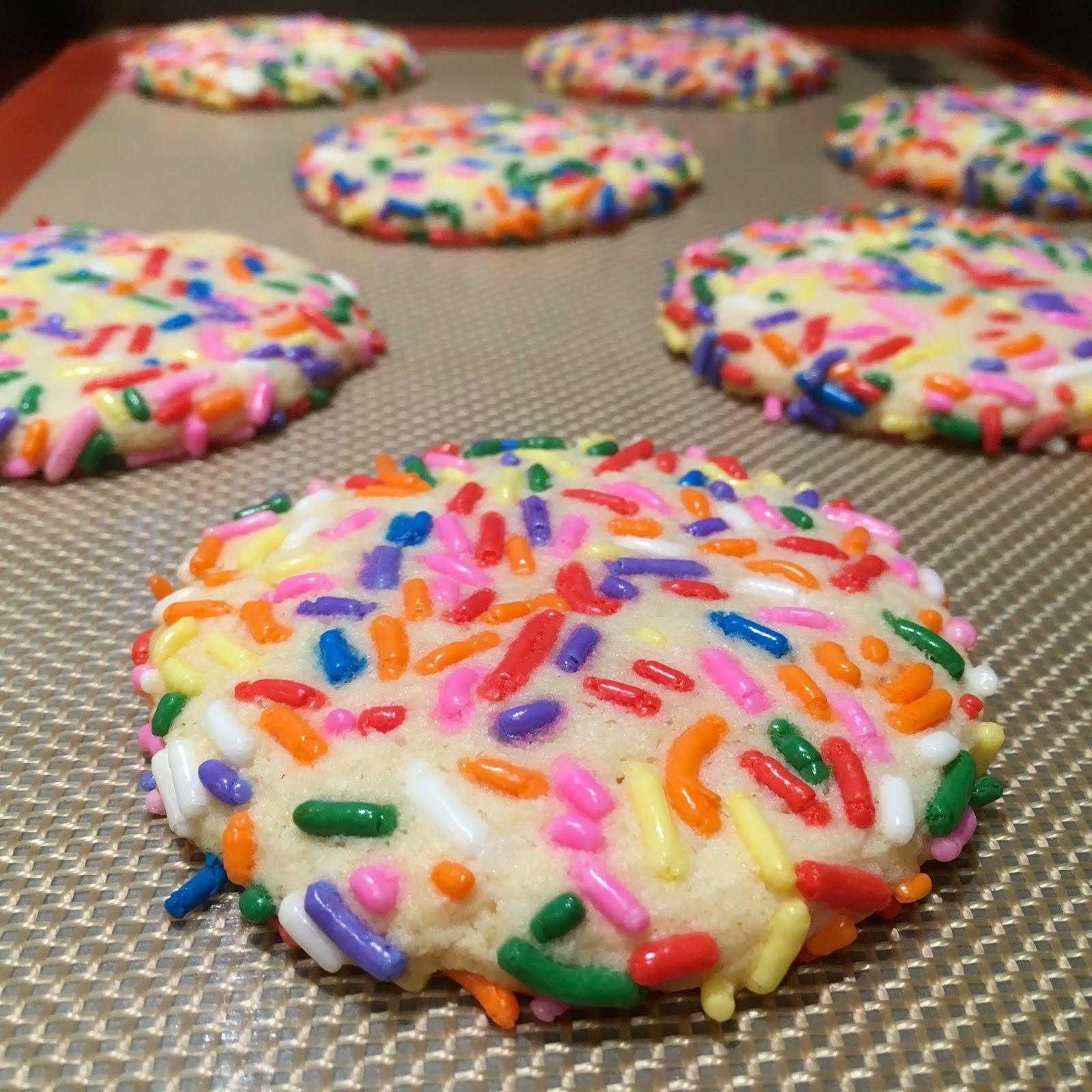 alton boys: Confetti Cookies