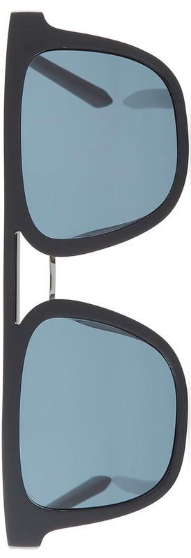 Salvatore Ferragamo Men's Square Double-Bridge Sunglasses