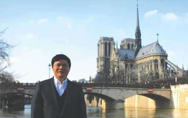 Tiến sỹ Lê Vương Văn Vệ trong một chuyến công du nước nghiên cứu về Nam học