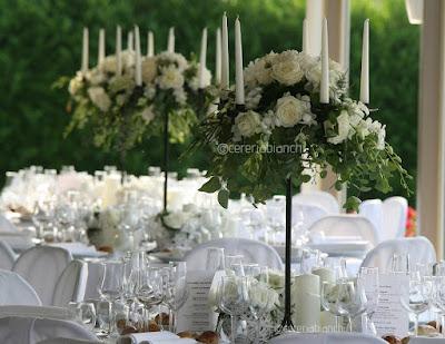 candelabri allestimenti fiori matrimonio