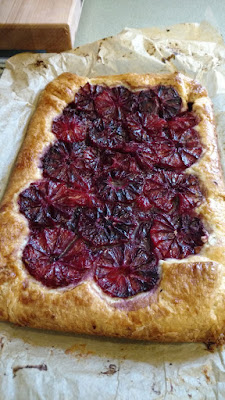 ... 16?), this is what I will make. A Flaky Blood Orange Tart