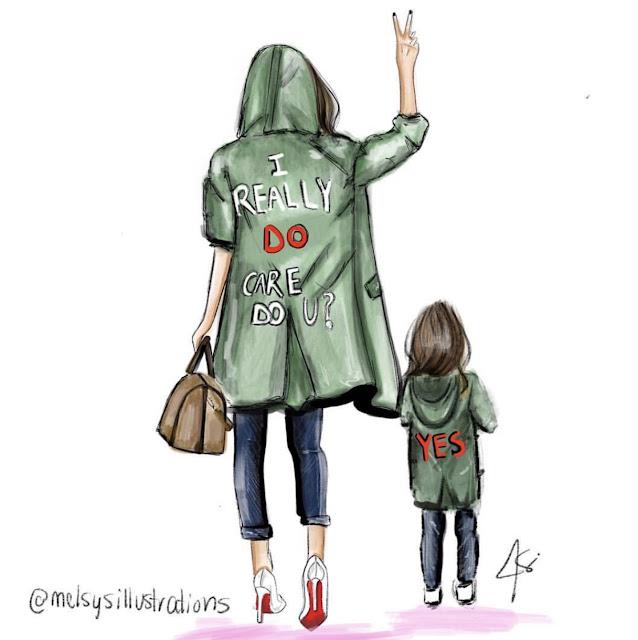 melania's jacket