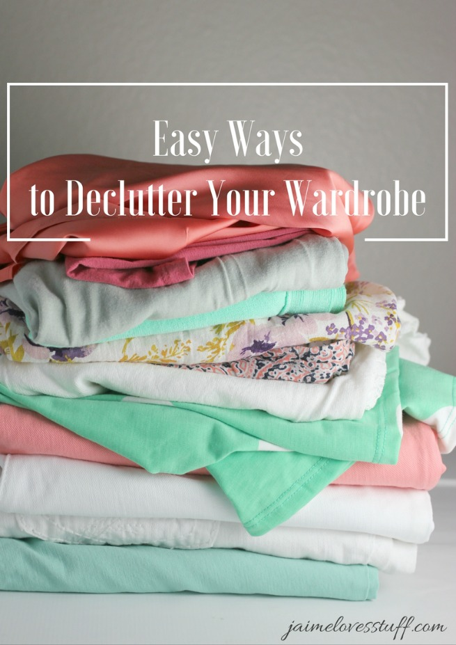 Easy Ways to Declutter Your Wardrobe