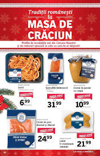 CATALOG LIDL 17 - 24 decembrie 2018 masa de Craciun