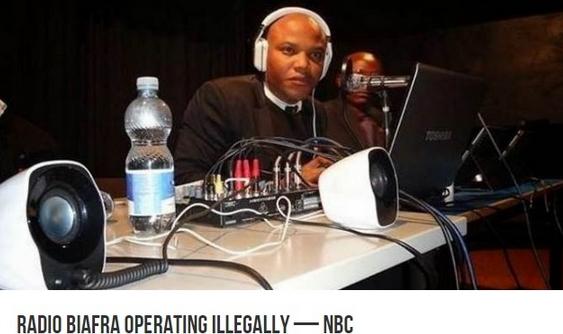 radio biafra banned nigeria