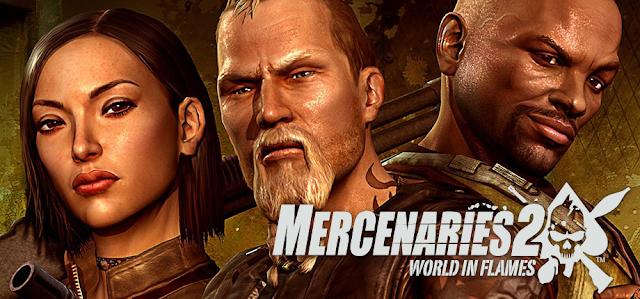Mercenaries 2 World in Flames PC Free Download