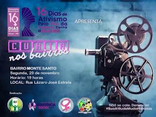 Prefeitura de Picuí promove 'Curta nos Bairros' a partir desta segunda-feira (20)