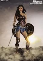 S.H.Figuarts Wonder Woman de Justice League - Tamashii Nations
