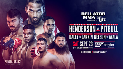 Ver Bellator 183 Henderson vs Pitbull En vivo 23 de Septiembre 2017
