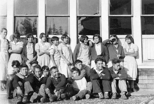 Happy natives in Euro-residential schools