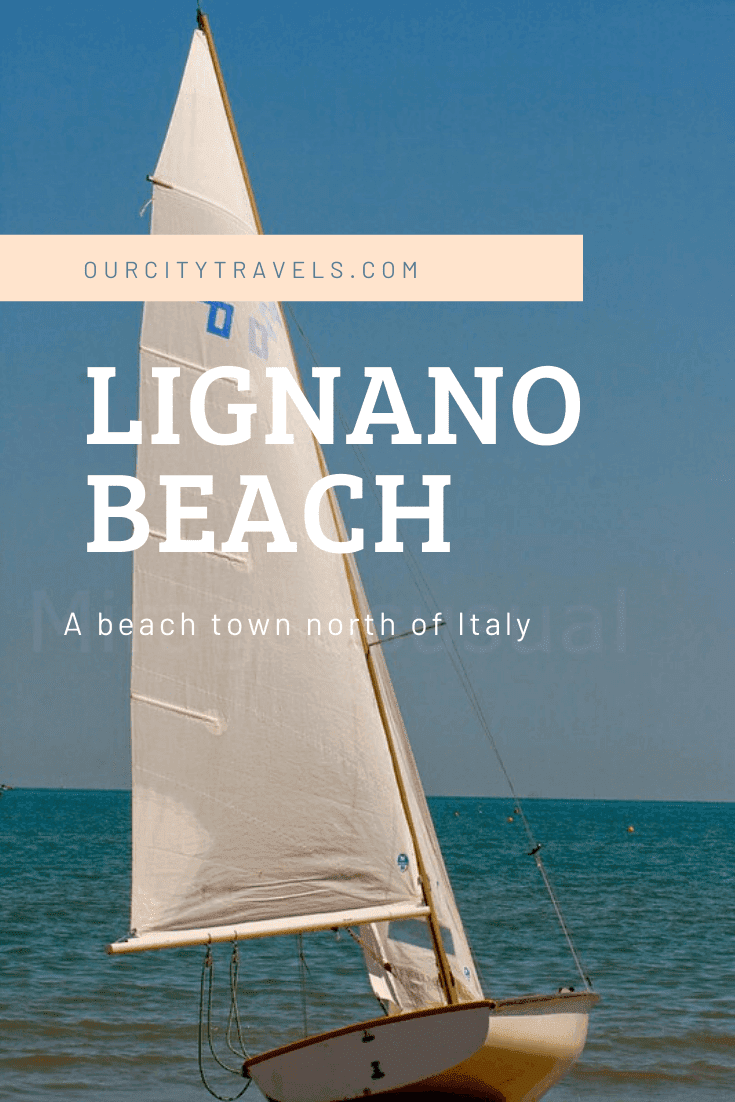 Lignano Beach, is in a town in Northern Italy, 7 hours away from Vienna. The travel itself is really interesting, I get to take drive by photos of the country.