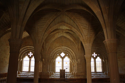 Chapter room of Poblet Monastery